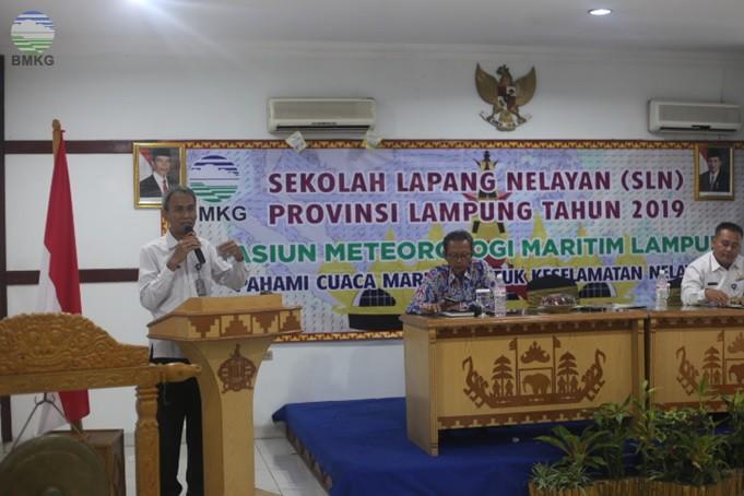 SLN Lampung, Pahami Cuaca Maritim untuk Keselamatan Nelayan