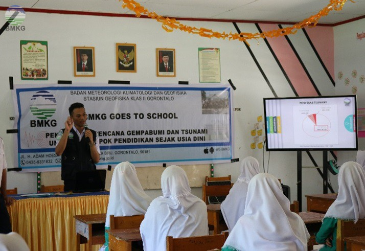 Program Goes to School, Stasiun Geofisika Gorontalo