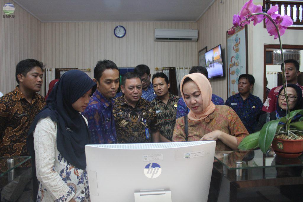 Kunjungan Kerja Perdana Kepala BMKG ke UPT di Wilayah Provinsi Bali