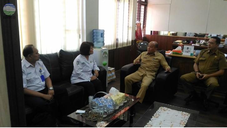 Kepala Pusat Meteorologi Publik BMKG Tinjau Lokasi Pemasangan Display Cuaca di Kota Medan