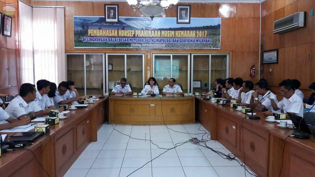 Pembahasan Konsep Prakiraan Musim Kemarau 2017 Di Lingkungan BBMKG Wilayah I Medan