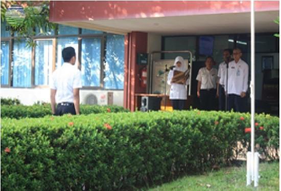 BMKG Stasiun Meteorologi Hang Nadim Batam Adakan Upacara Peringati Hari Meteorologi Dunia ke 67