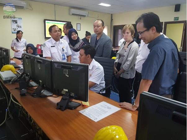 Rangkaian Kunjungan IBM ke BMKG dan Design Thinking Workshop on PDL Sensor, PAIRS Data Analytics untuk Pengembangan Sensor Gempa