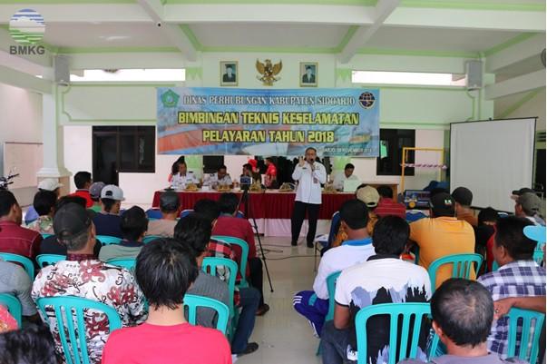 Kasmet Juanda Surabaya Menjadi Narasumber BIMTEK Keselamatan Pelayaran Tahun 2018