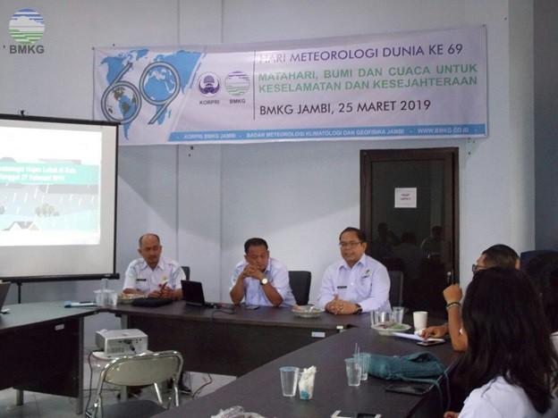 Kegiatan UPT BMKG Provinsi Jambi dalam Rangka Memperingati HMD Ke-69