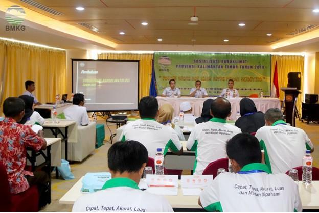 Sosialisasi SLI Agroklimat Provinsi Kalimantan Timur