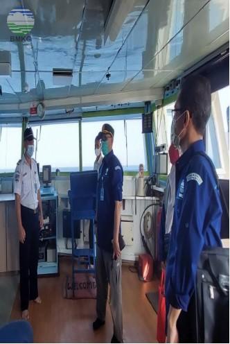 Kegiatan Verifikasi Cuaca Maritim dan Bimbingan Kapal di Jalur Penyeberangan Merak-Bakauheni
