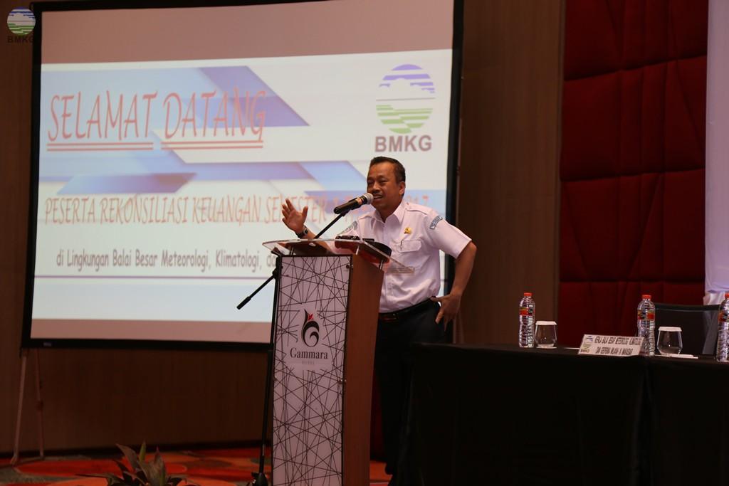 Rekonsiliasi Keuangan Semester I Balai Besar MKG Wilayah IV Makassar