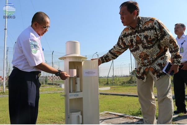 Kunjungan Anggota Komisi V DPR RI di BMKG Juanda Surabaya