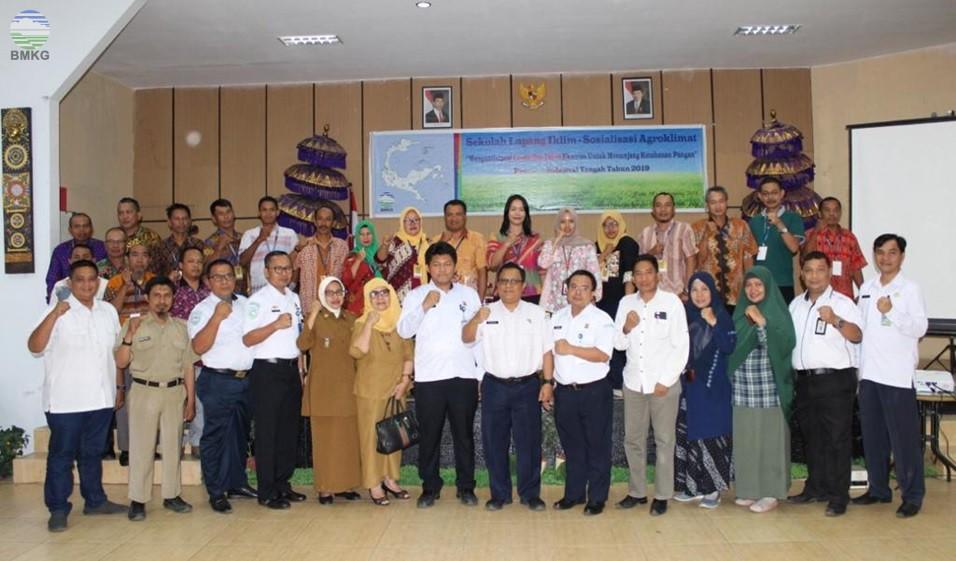 Peran Nyata BMKG dalam Menunjang Ketahanan Pangan di Sulawesi Tengah
