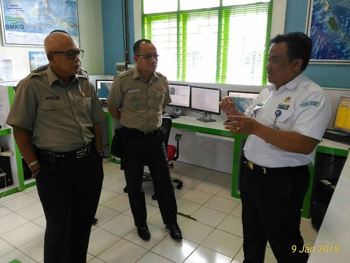 Kunjungan Kepala UPT BNPB Regional Sumatera Ke Stageof Padang Panjang