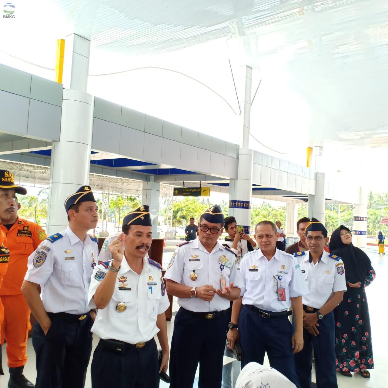 Kontribusi Aktif Stasiun Meteorologi Kelas I Djalaluddin Gorontalo dalam Posko Angkutan Udara Lebaran Tahun 2019/1440 H