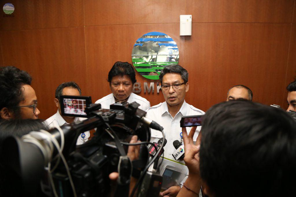 Oktober-November 2017, 76% Wilayah Indonesia Masuk Awal Musim Hujan