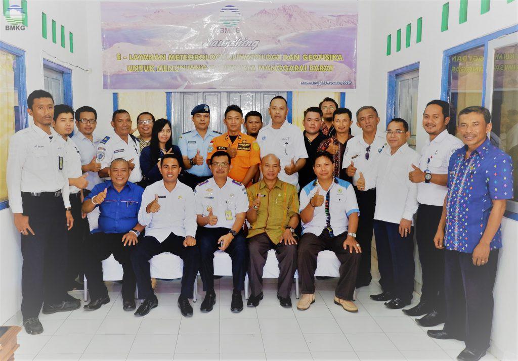 Stamet Komodo Melaunching E-Layanan Meteorologi, Klimatologi & Geofisika  Untuk Mendukung Pariwisata Labuan Bajo, Manggarai Barat