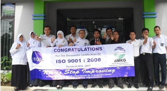 Stamet Pangkalpinang Kembali Raih ISO 9001 : 2008