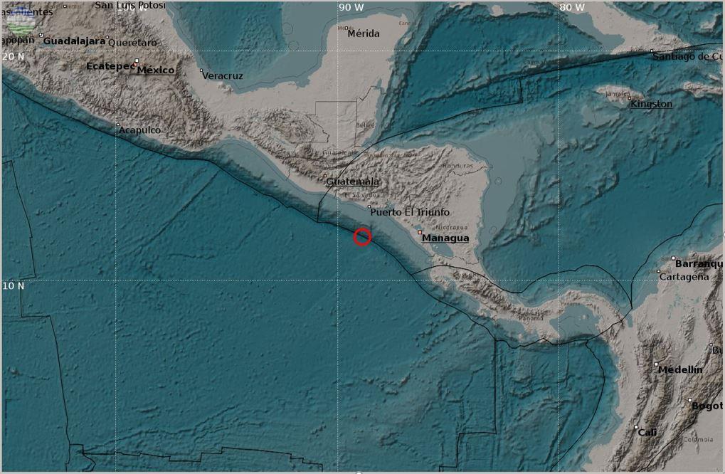 Gempabumi Lepas Pantai Amerika Tengah Tanggal 25 November 2016 Kekuatan Mw 6.9 Tidak Berpotensi Tsunami Di Wilayah Indonesia
