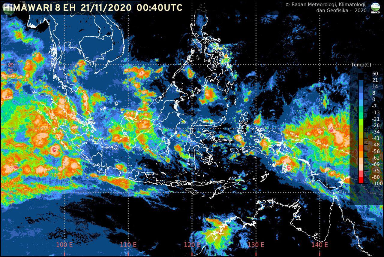 Potensi Cuaca Ekstrem Sepekan ke Depan (21-27 November 2020)