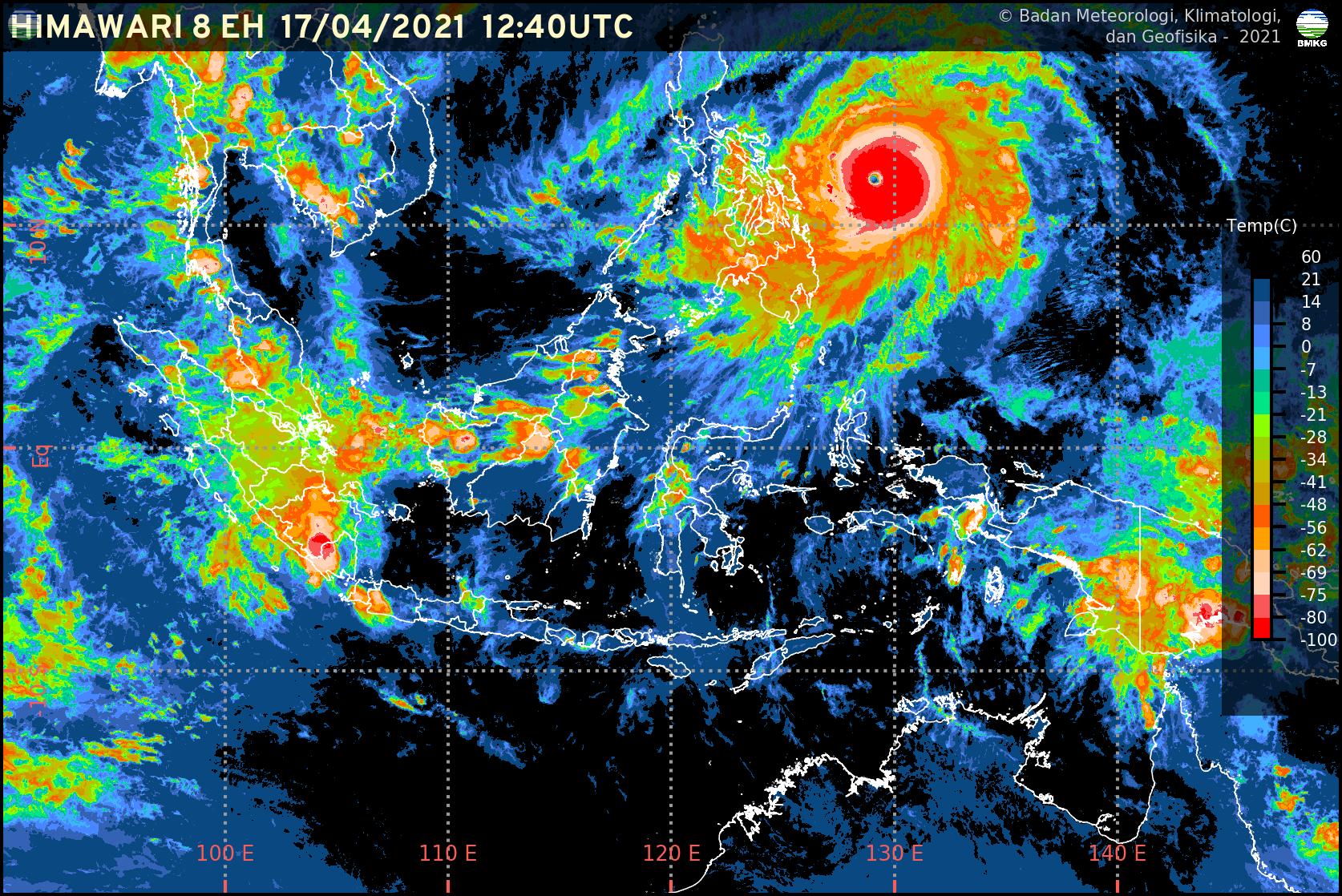 Siklon Tropis Surigae Tidak Berdampak Pada Cuaca di Jabodetabek