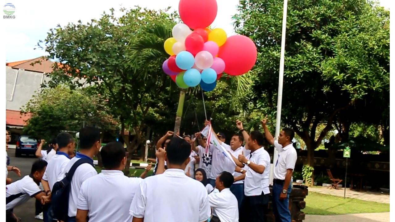 Pembukaan Acara HMKGN ke-71 dan HUT RI ke-73 BMKG se-Provinsi Bali