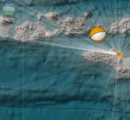 Press Release Gempabumi Tektonik M 5.7 di Provinsi Nusa Tenggara Timur 7 Januari 2017
