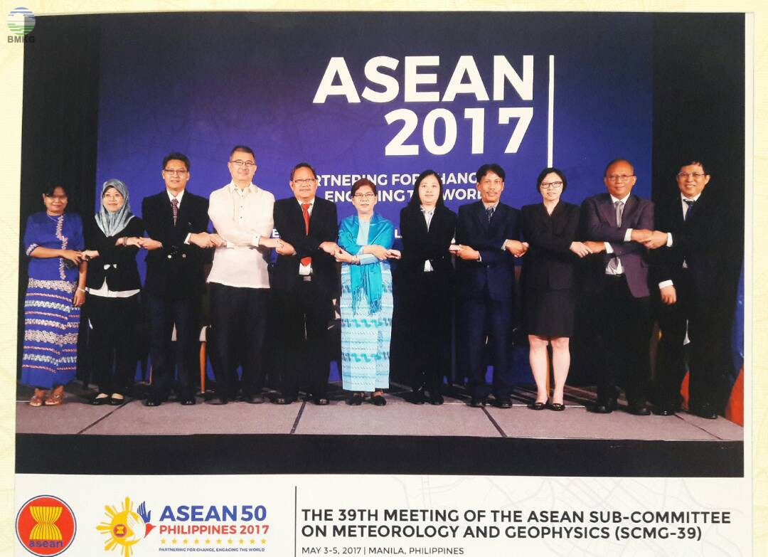 BMKG Ikuti the 39th Meeting of ASEAN Sub Committee on Meteorology and Geophysics (SCMG-39)
