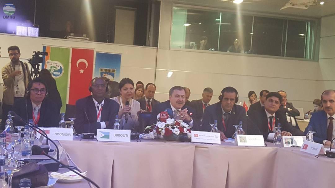 Sekretaris Utama BMKG Hadiri Pertemuan Meteorologi Negara-Negara Islam