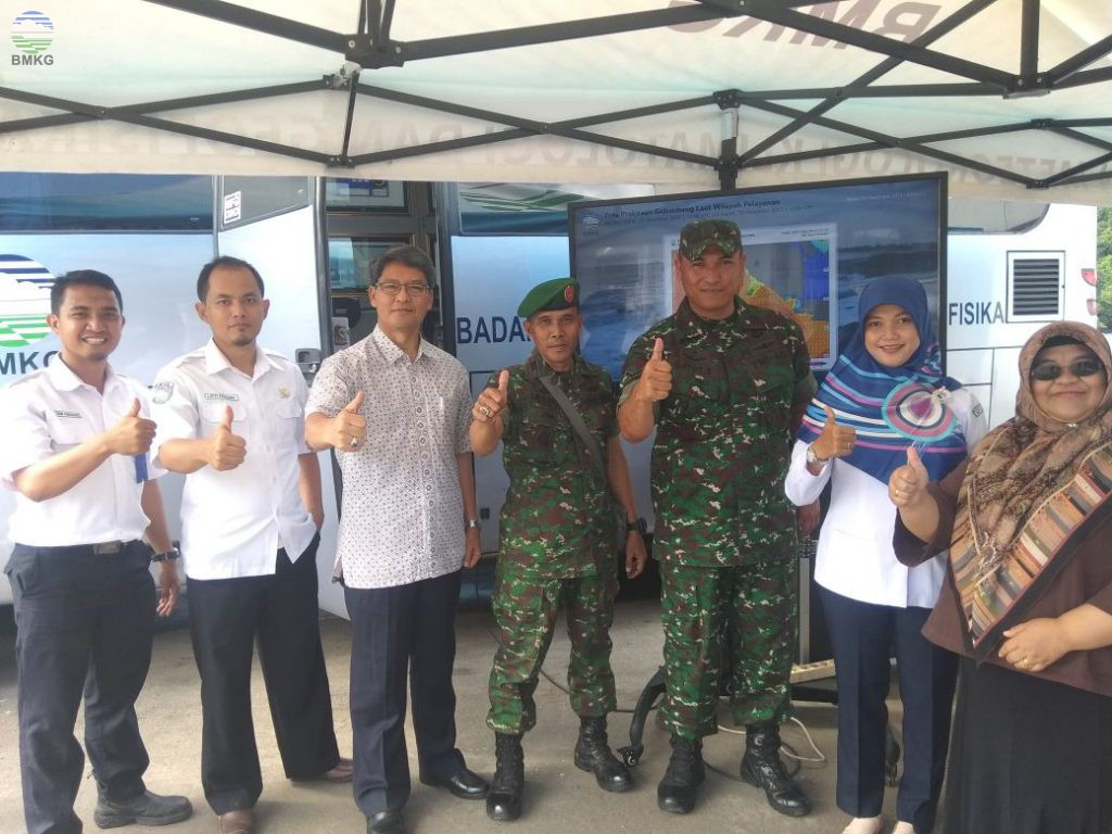 Kunjungan Kerja Deputi Meteorologi ke Posko Cuaca Pelabuhan Merak