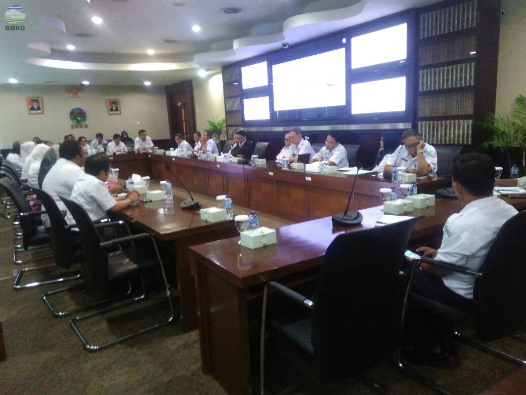 Entry Meeting BMKG dengan BPK RI