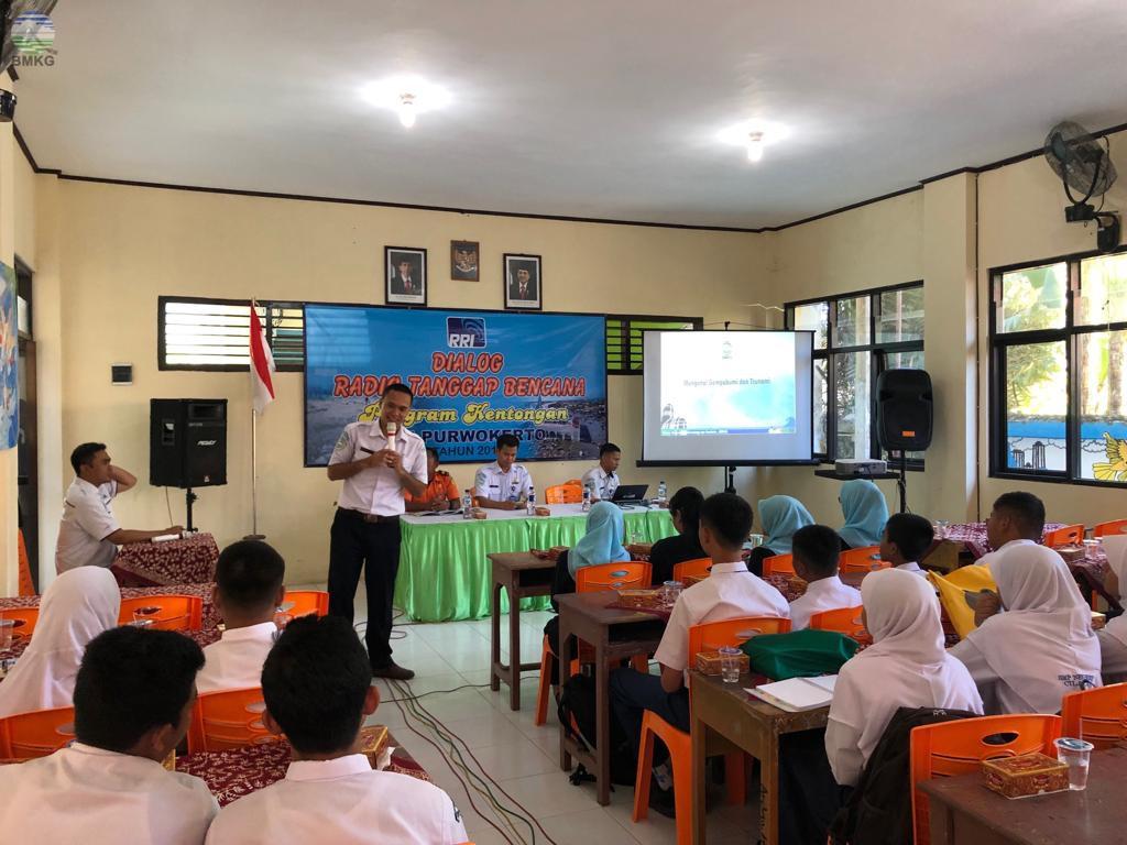 Stasiun Geofisika Banjarnegara Berpartisipasi dalam Program RRI Purwokerto Bertajuk Dialog Tangguh Bencana