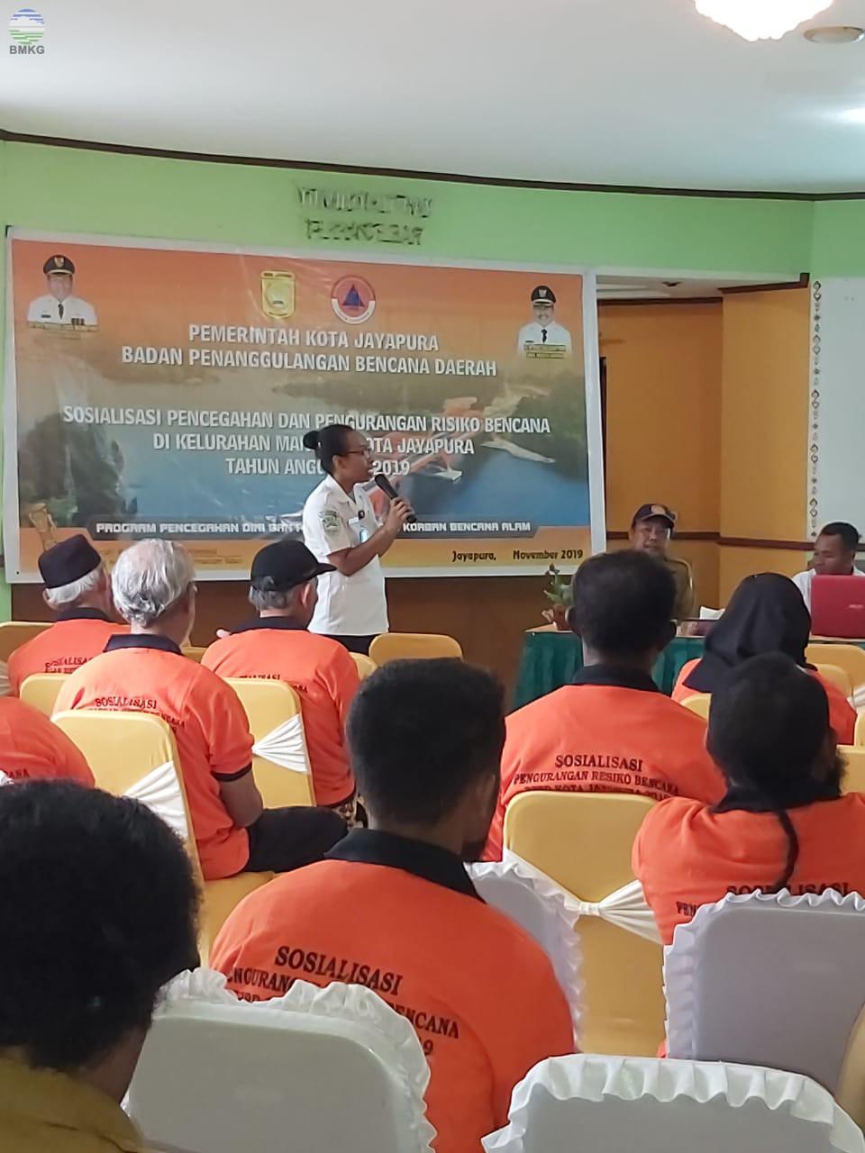 Sosialisasi Pencegahan dan Penanggulangan Resiko Bencana di Wilayah Kelurahan Mandala, Kota Jayapura