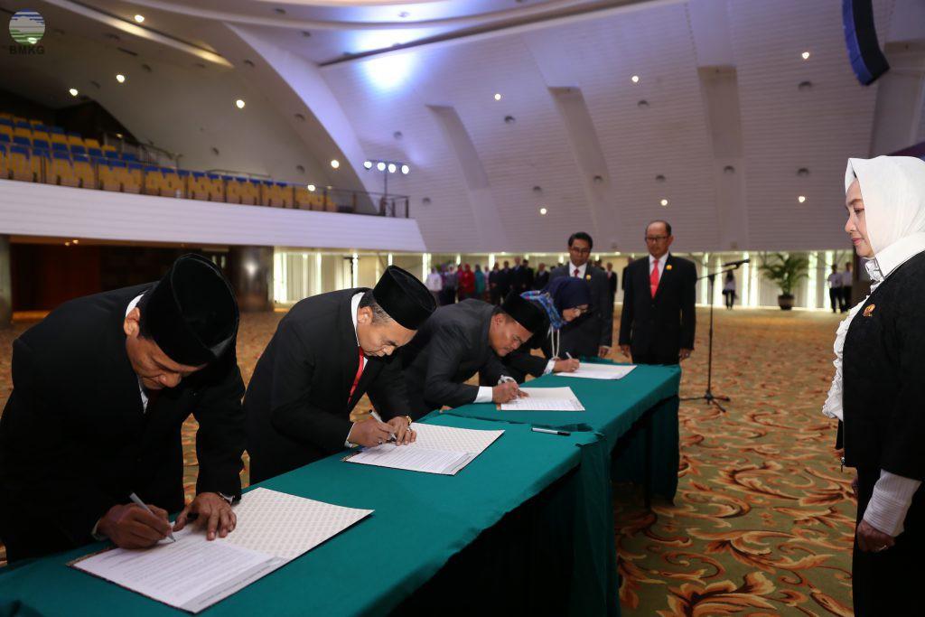 Pelantikan Pejabat Tinggi Pratama BMKG