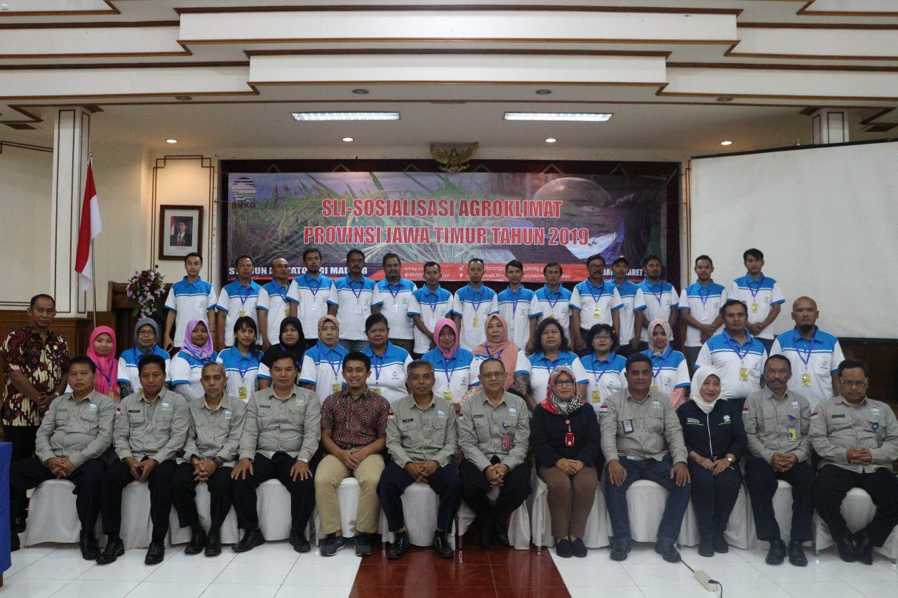 SLI - Sosialisasi Agroklimat Provinsi Jawa Timur  Tahun 2019