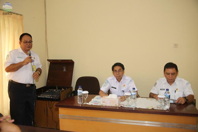 Kunjungan Kerja Sestama BMKG Ke 3 UPT Di Wilayah Lombok