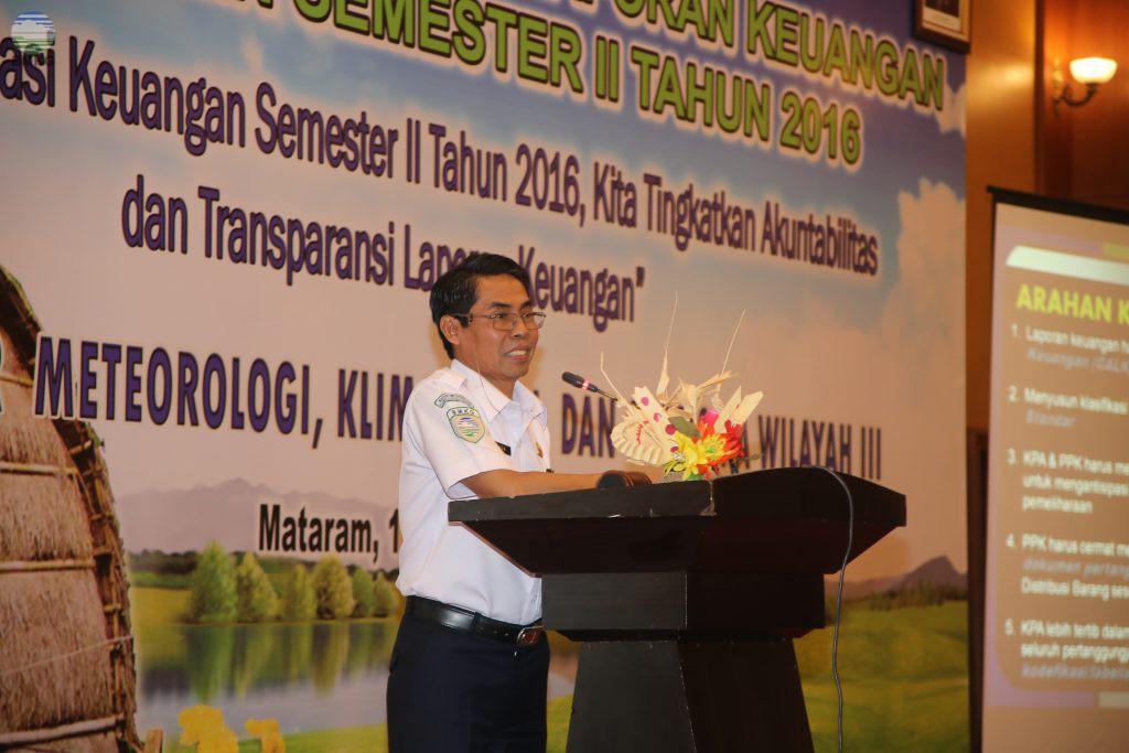 Rekonsiliasi Keuangan Semester II Tahun 2016 BBW MKG III Denpasar