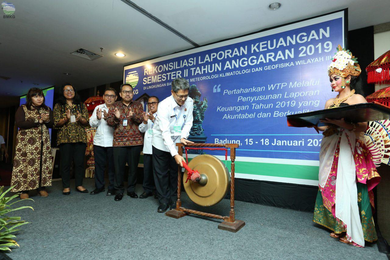 Balai Besar MKG Wilayah III Denpasar Gelar Rekonsiliasi Penyusunan Laporan Keuangan Semester II Tahun 2019