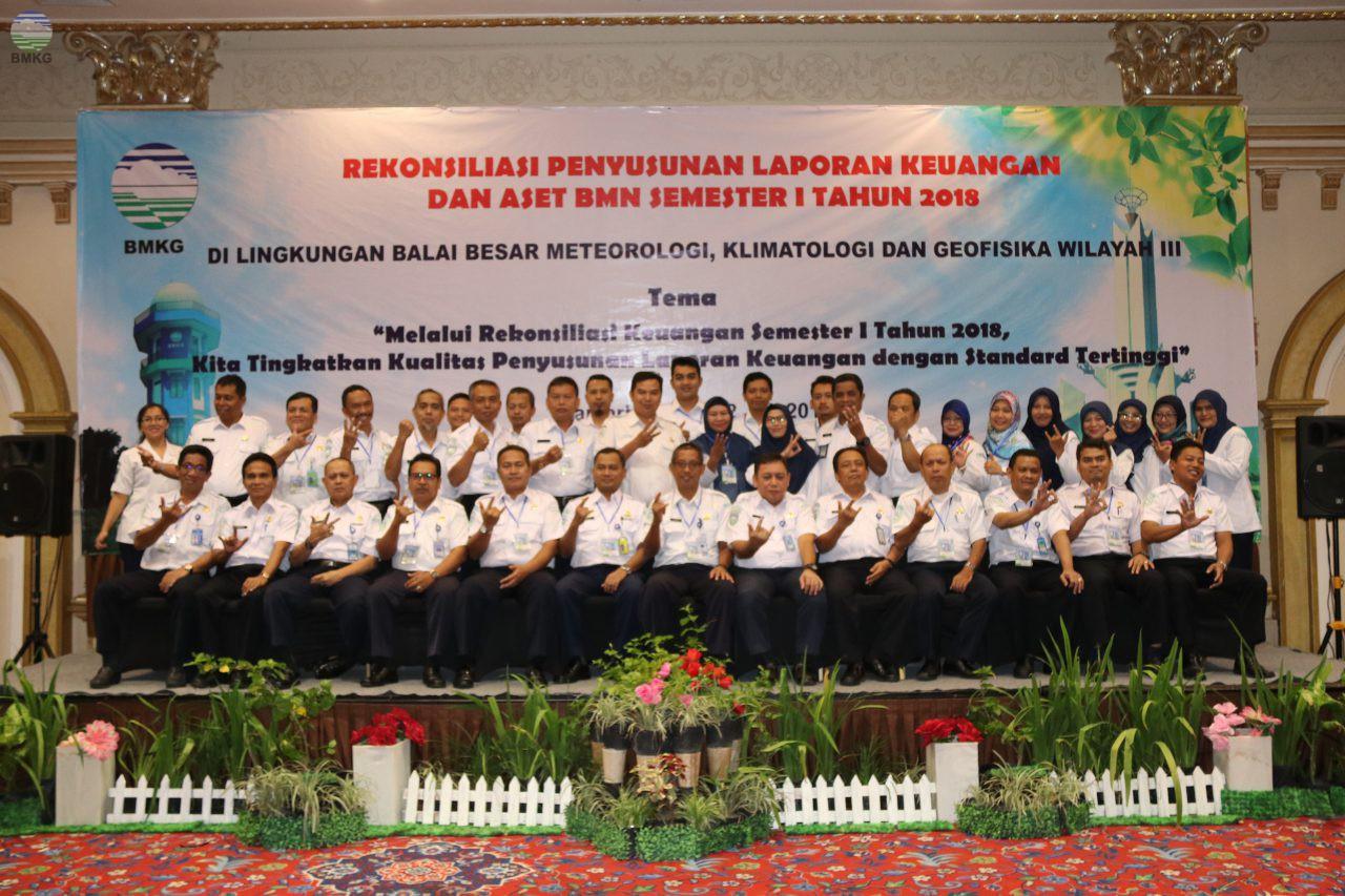 Rekonsiliasi Keuangan Semester I Tahun 2018 Balai Besar MKG Wilayah III