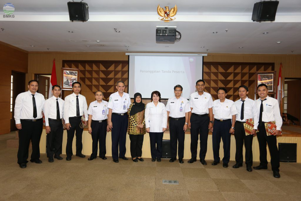 5 Terbaik Peserta Diklat Pimpinan Tingkat IV Angkatan V Tahun 2017