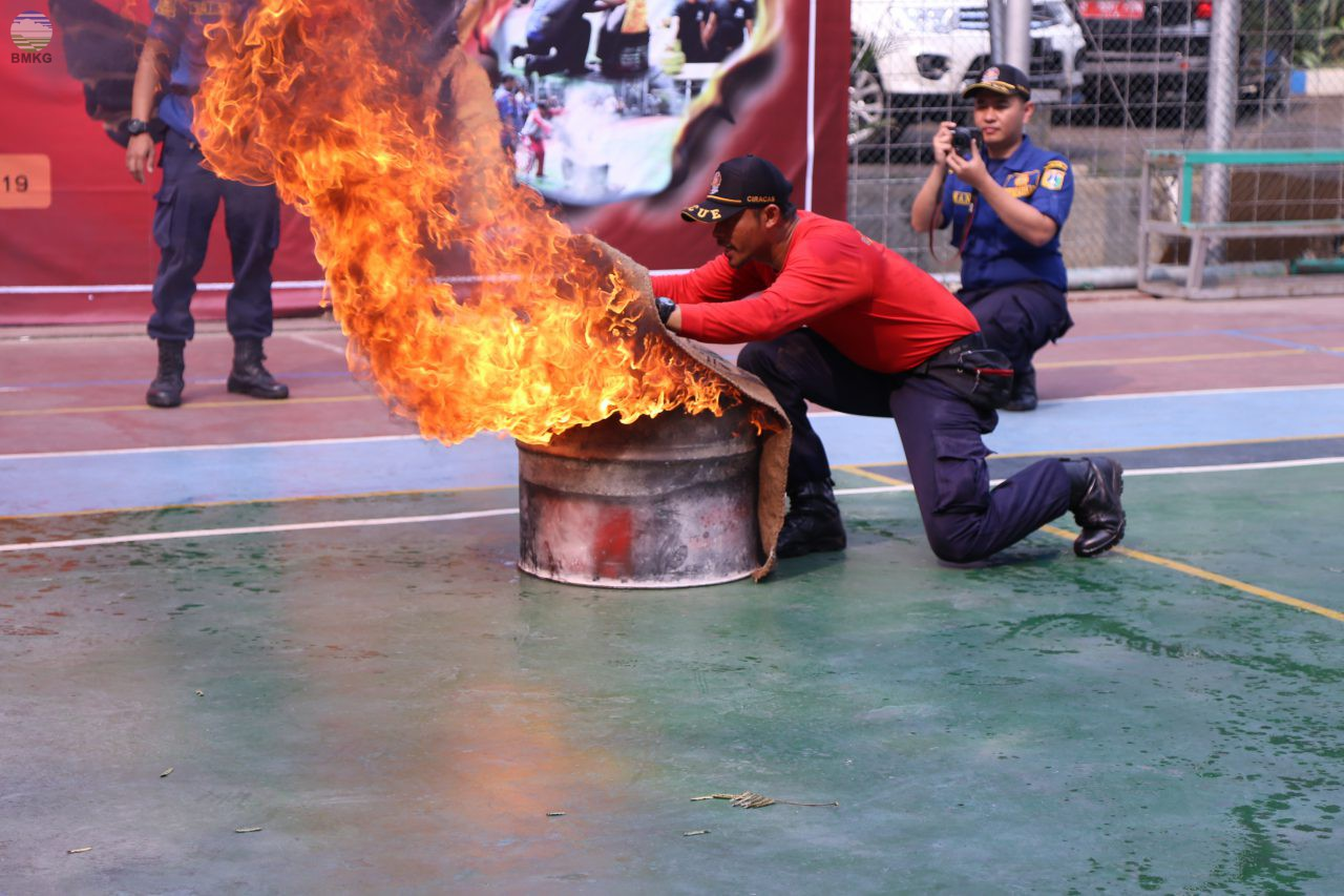 Sosialisasi Manajemen Keselamatan dan Kebakaran Gedung (MKKG) di Kantor Pusat BMKG