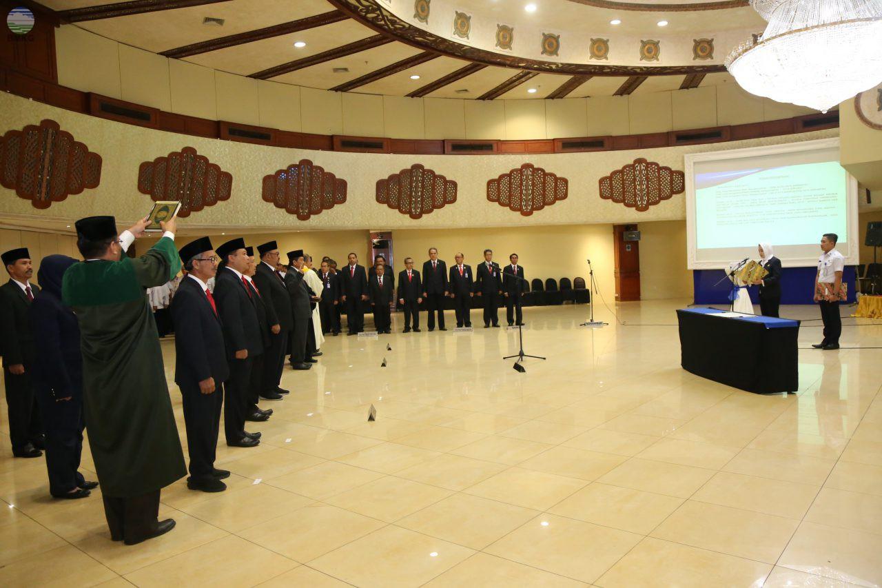 BMKG Lantik 11 Pejabat Administrasi Baru