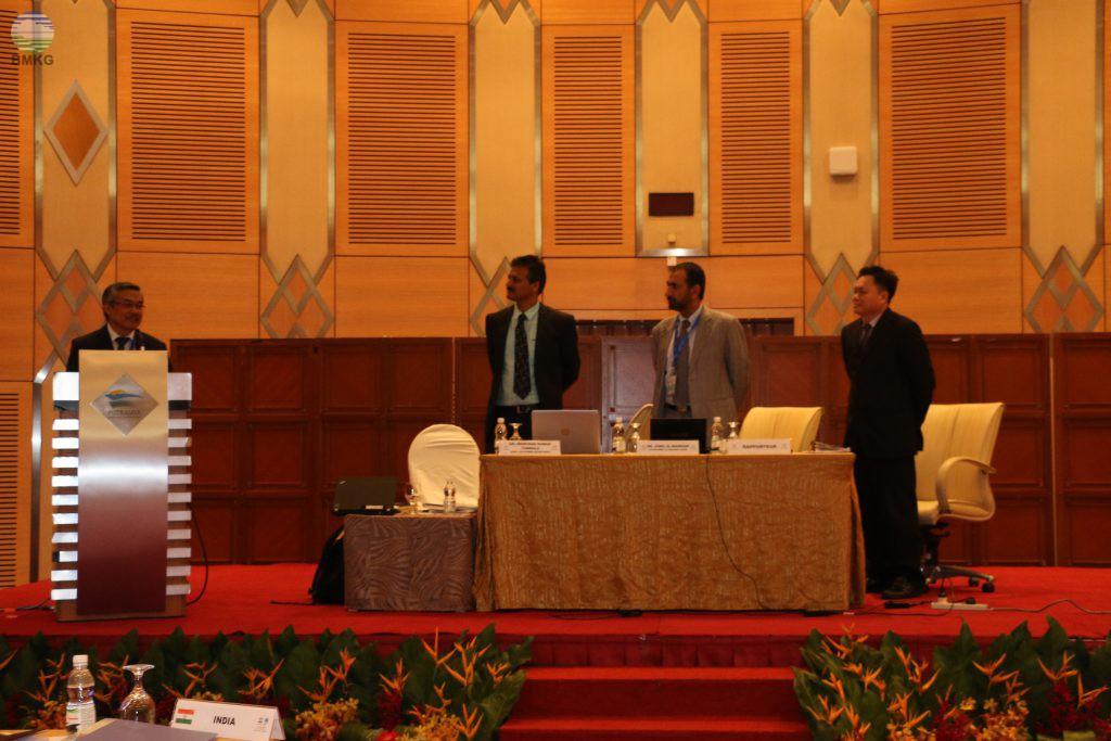 KBMKG Terpilih sebagai Chair of ICG/IOTWMS Periode 2017-2019