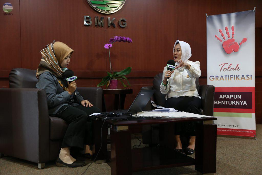 "Wawancara Khusus El-Shinta dengan Kepala BMKG ""Catatan Akhir Tahun 2017"""