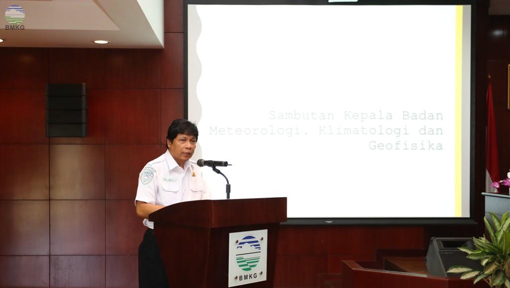 Deputi Bidang Meteorologi buka Diklat Teknis Observasi Meteorologi dan Diklat DTSS Bendahara Pengeluaran