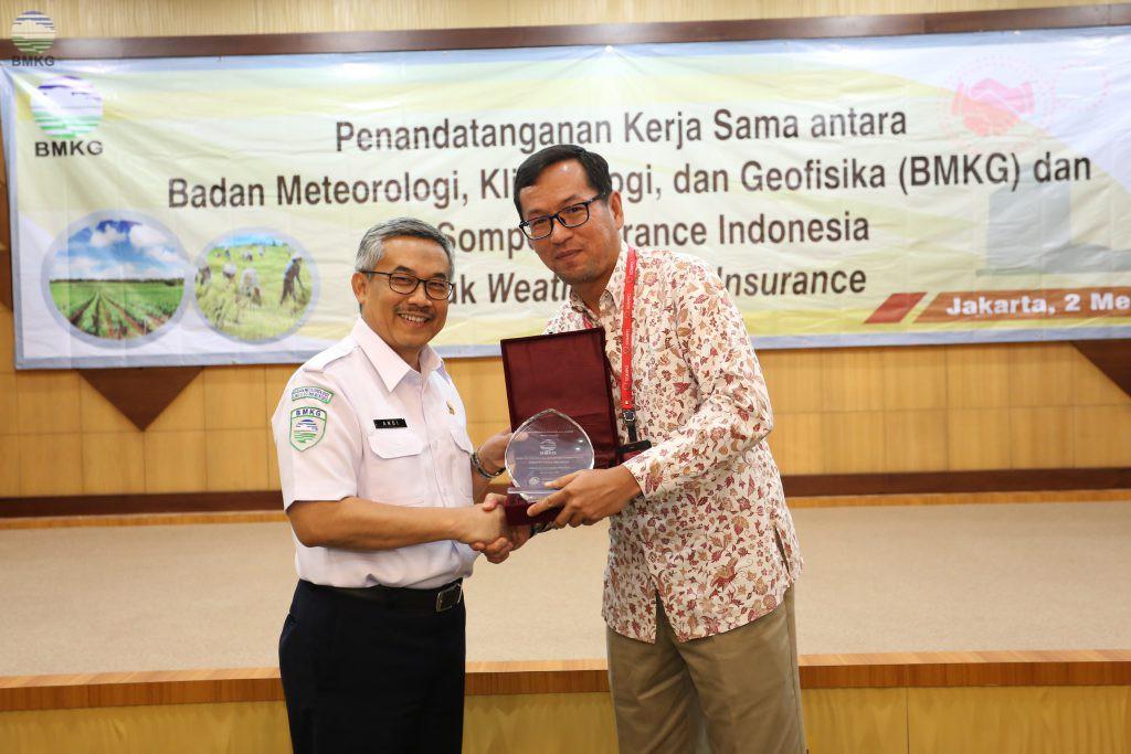 BMKG Dukung Asuransi Sompo  untuk Lindungi Petani dari Kerugian Akibat Kekeringan
