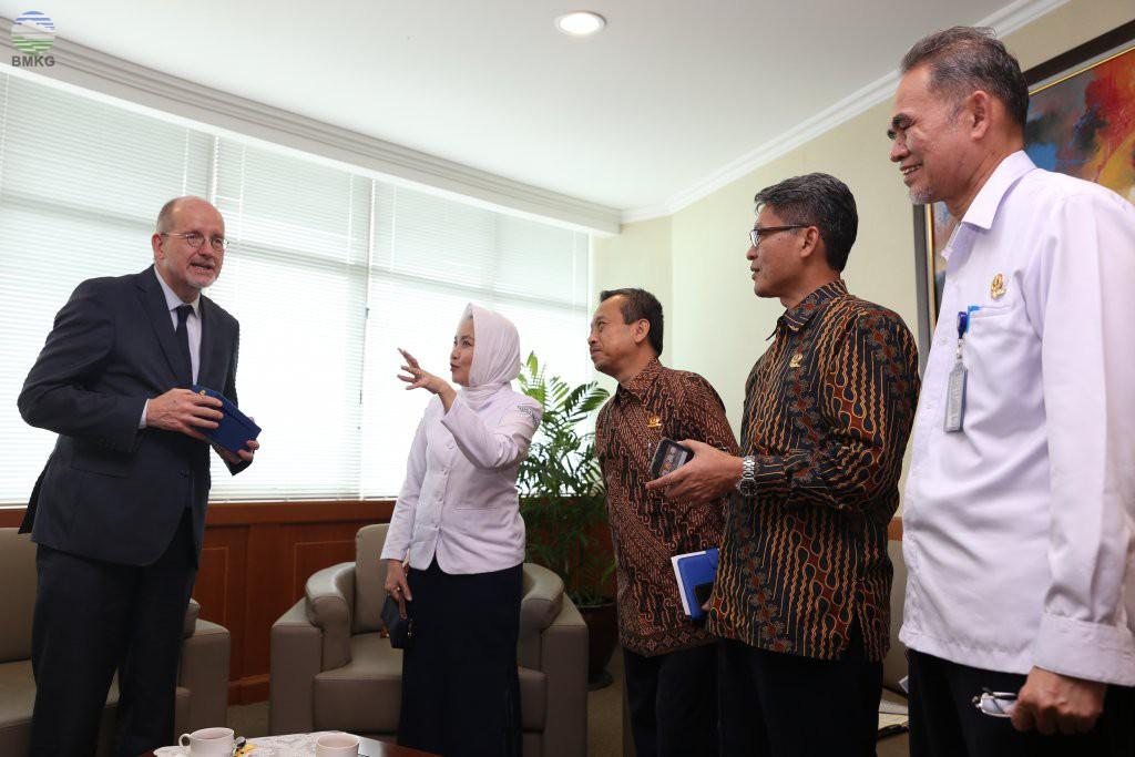 Perwakilan UNESCO Kunjungi BMKG