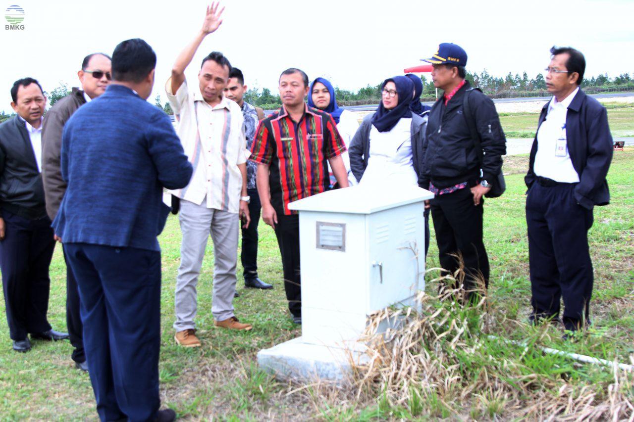 KemenPAN&RB Tinjau Lokasi dalam Rangka Pembentukan UPT BMKG di Wilayah Silangit
