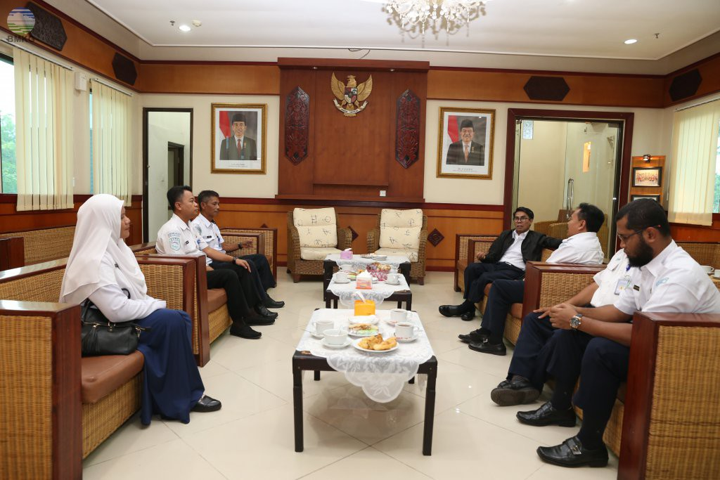 Kunker Sekretaris Utama BMKG Ke 3 UPT Di Kalimantan Tengah