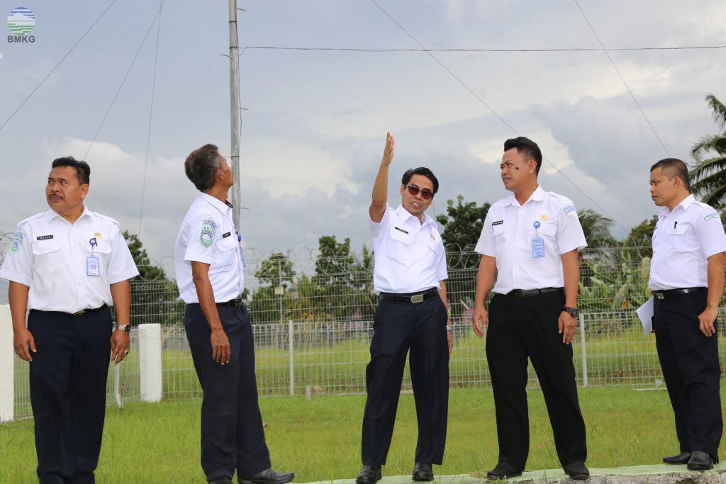 Kunjungan Kerja Sekretaris Utama BMKG Ke 3 UPT Di Kalimantan Tengah