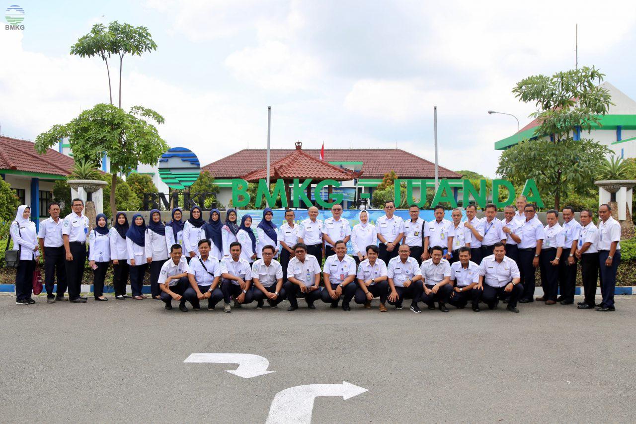 Audiensi Kepala BMKG dengan Pegawai BMKG di UPT Wilayah Surabaya