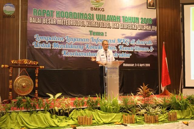 Rakorwil BBMKG Wilayah IV Makassar, Herizal: Lompatan dan Inovasi Teknologi