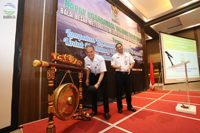 Rakorwil BBMKG Wilayah IV Makassar, Festival Inovasi, Sertijab, dan Tarian 4 Etnis